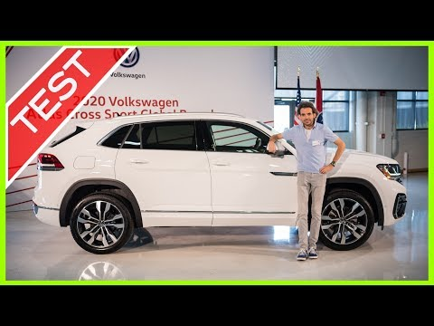 VW Atlas Cross Sport R-Line (2020): Weltpremiere | Erste Sitzprobe, neues R-Logo