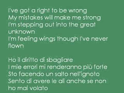 I might be wrong but right lyrics
