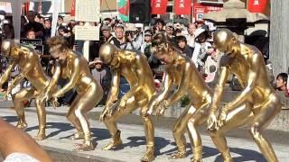 Repeat youtube video 大須大道町町人祭 - 街頭赤裸 大駱駝艦