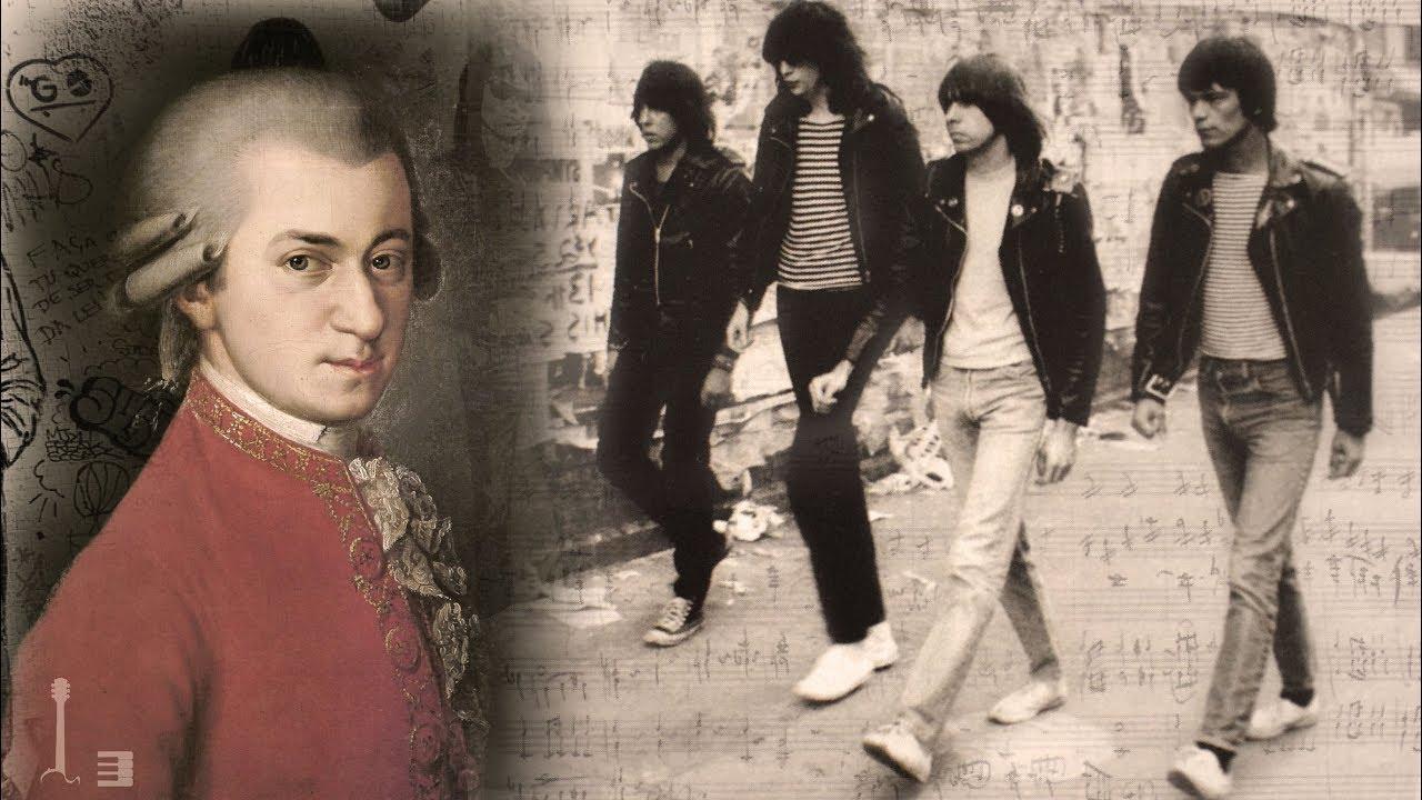 Mozart & Ramones ¿En qué se parece su música?