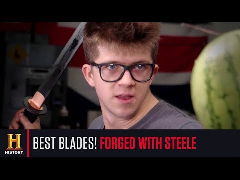 Alec Steele's Three Most INCREDIBLE Weapons From Forged With Steele