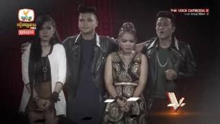 The Voice Cambodia - ឃី សុឃុន - ទឹកភ្នែកពេលយប់ - Live Show 29 May 2016