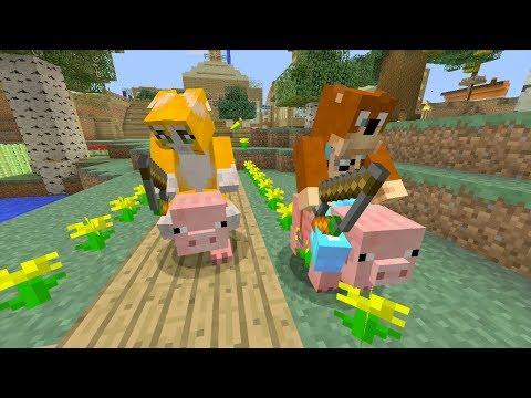 Minecraft Xbox - Pig Race [189]