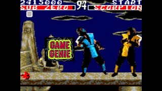 Mortal Kombat Game Genie (Game Gear)