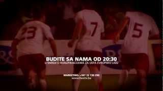 F.K. SARAJEVO F.K.ZETA KVALIFIKACIJE ZA UEFA EUROPE LEAGUE Thumbnail
