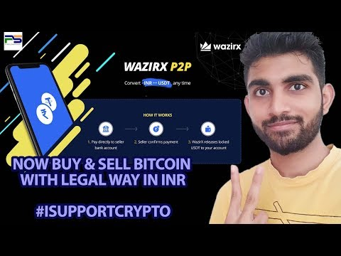 Full Detail Video about WazirX Peer to Peer P2P Transaction with legal way - PIXELSNAPSHOT