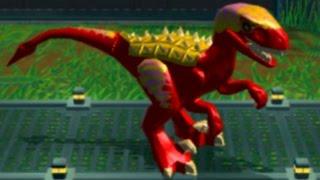 LEGO Jurassic World (PS Vita) - All Medium and Small Dinosuars