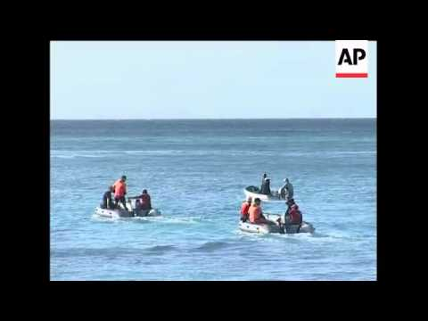French navy on search and rescue op, doctor comments
