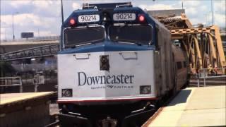 Railfanning Boston North Station 7/26/2017