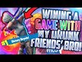 WINNING A GAME WITH MY FRIENDS' DRUNK BROTHER!