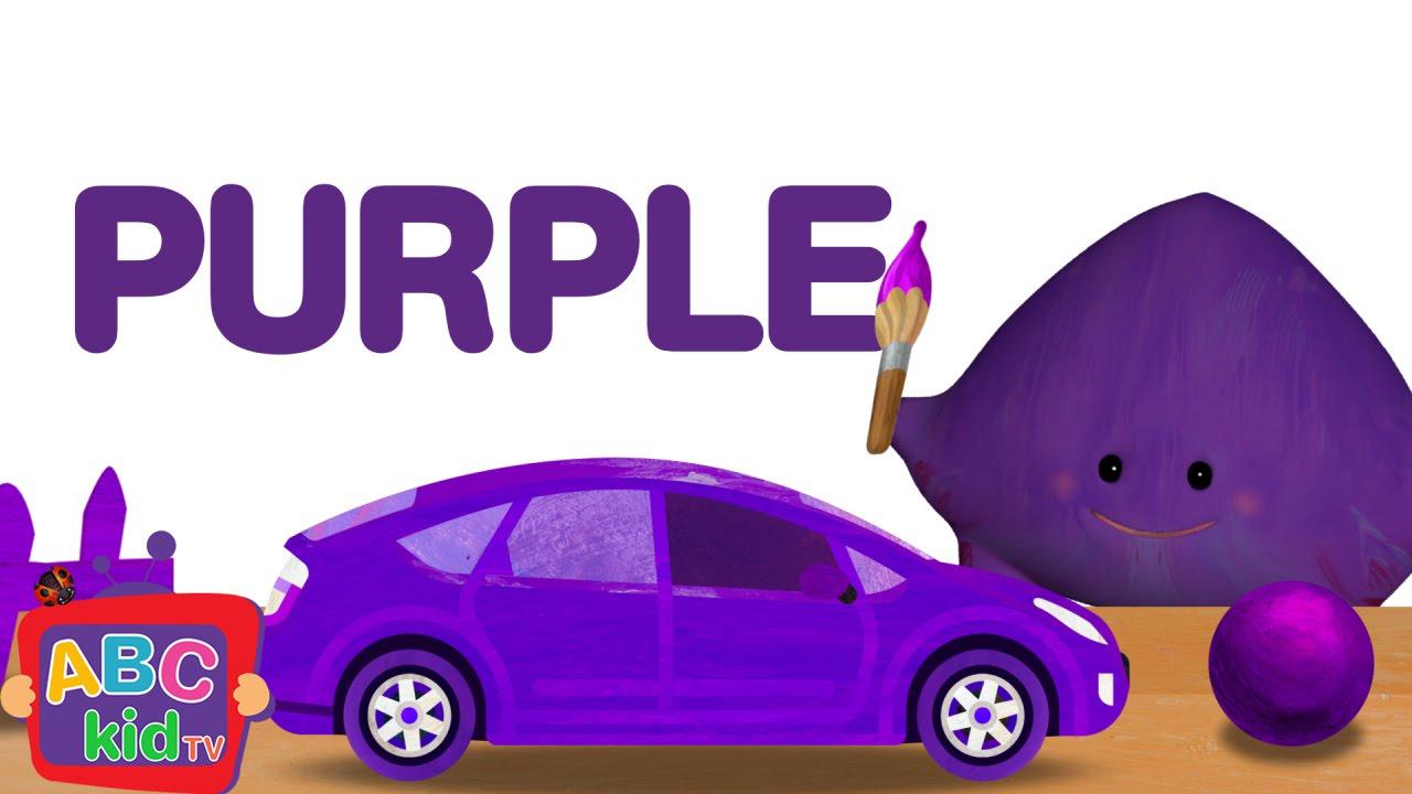 Color Song Purple Cocomelon Abckidtv Nursery Rhymes