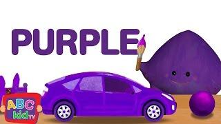 Color Song - Purple   CoCoMelon Nursery Rhymes & Kids Songs