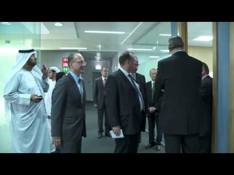 Inauguration of the Siemens office in Masdar