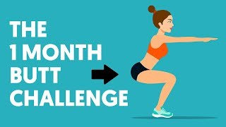 1 Month Butt Challenge: Transform Your Glutes With These 5 Exercises