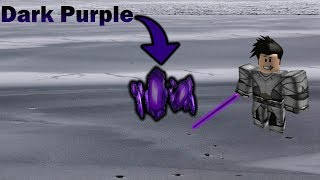 How To The Find Dark Purple Crystal In Roblox Star Wars: Jedi Temple on Ilum