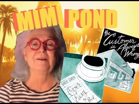 Mimi Pond Cartoonist Chat!