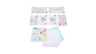 Sara Signature Birthday Party Papercraft Set