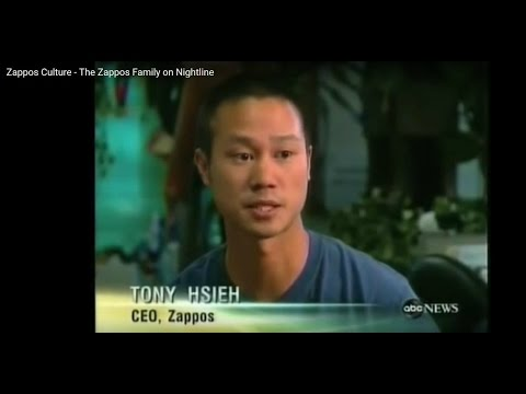 Zappos Company Culture - The Zappos Family on Nightline