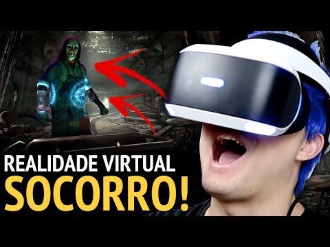 SOCORRO MEDO EM REALIDADE VIRTUAL +13