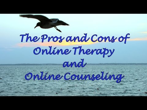 The Pros and Cons of Online Therapy and Online Counseling