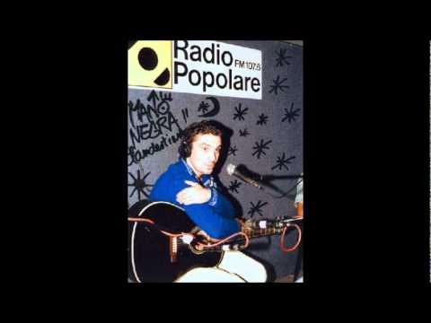 Manu Chao en vivo Radio Popolare - 04 - Marihuana Boogie