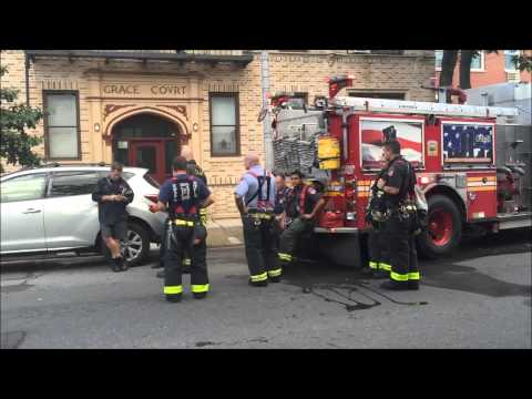 FDNY OPERATING AT 10-75 ALL HANDS INDUSTRIAL COMMERCIAL HAZM