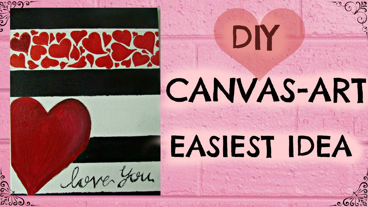 Valentines Painting Ideas Easy