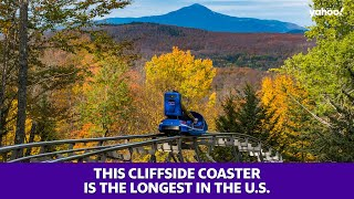 New York cliffside coaster is the longest in the U.S.