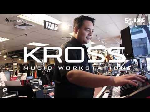 Korg Kross Sequencer Demo at City Music Singapore