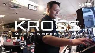 Korg Kross Sequencer Demo at City Music Singapore