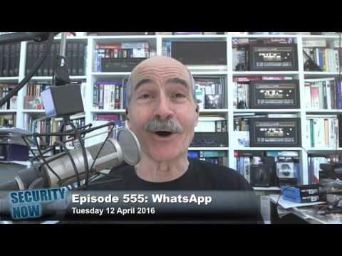 Security Now 555: WhatsApp
