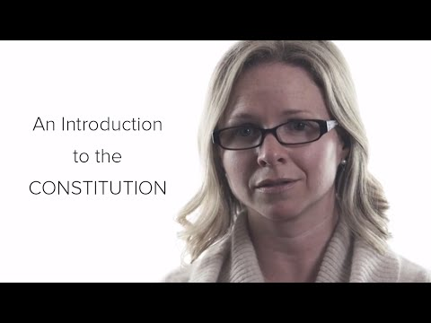 An Introduction to the Constitution