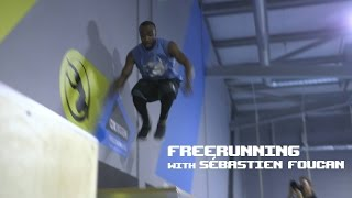 Freerunning with it's creator Sébastien Foucan at Oxygen Southampton