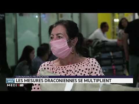 Coronavirus: les mesures draconiennes se multiplient dans le monde