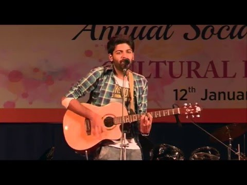 Pehli Nazar Mein Guitar live performance MIT SOB, Pune