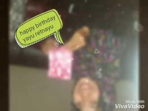 Selamat ulang tahun adikku tersayang... this is special for you 😘😘😘