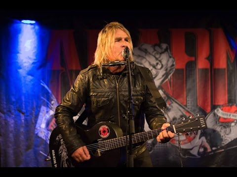 Mike Peters (The Alarm) at Herr Nilsen, Oslo, Norway - 25th May 2015