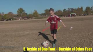 soccerskills4kids.com - 10 Cone Drills for Beginning Football/Soccer Players (ages 3-11)
