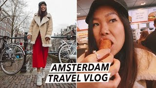 Amsterdam Travel Vlog: Food Tour, Croquettes & Things To Do in 48 Hours