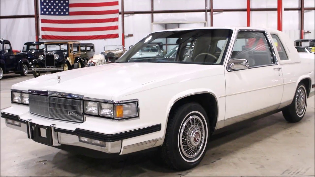 1985 Cadillac Coupe DeVille - YouTube