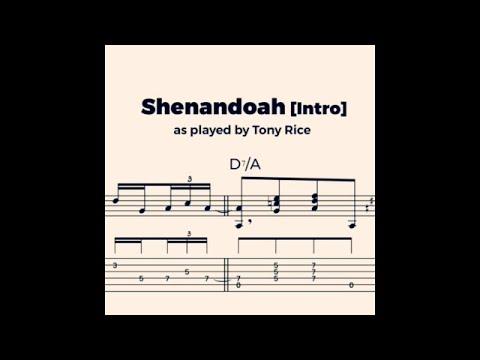 Shenandoah (intro) - Tony Rice