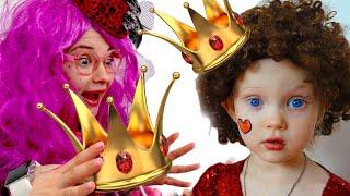 Настя папа и мама - история для детей про волшебницу