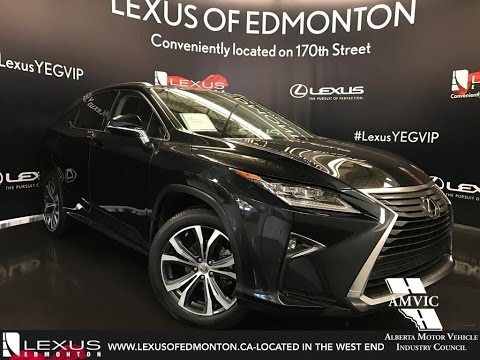 Lexus Certified Pre Owned 2016 Black Rx 350 Awd Luxury