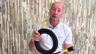 4 Metre Heavy Duty Karcher K Series C Clip Pressure Power Washer Hose Four 4M M