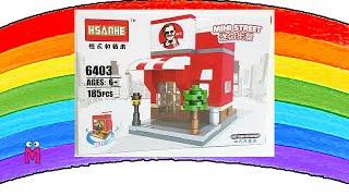 KFC Lego playset Mini Street Fast Food Restaurant by MOM MOM • Toys