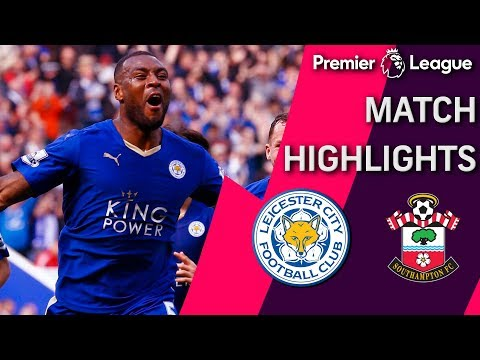Leicester City v. Southampton | PREMIER LEAGUE MATCH HIGHLIGHTS | NBC Sports