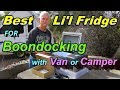 Best Lil Fridge for Boondocking in Van or Camper