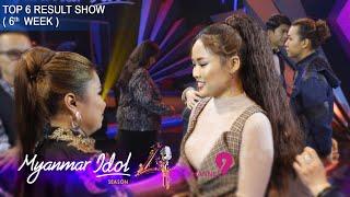 Myanmar Idol Season 4 2019   Top 6   (6th week) Result Show