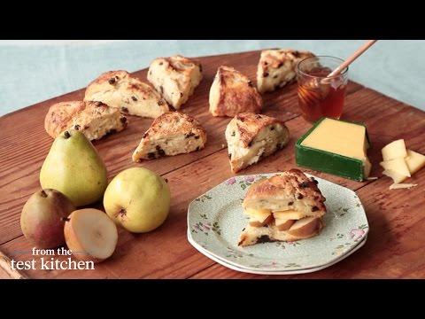 Irish Cheddar and Pear Scone Recipe - From the Test Kitchen