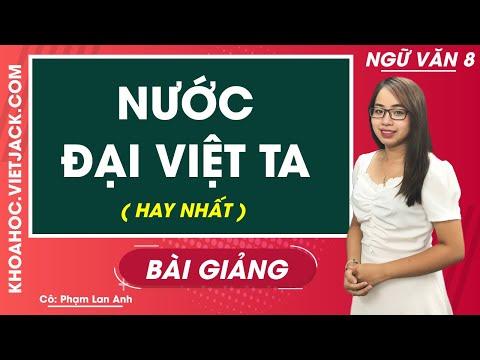 Nước Đại Việt ta - Ngữ văn 8 - Cô Phạm Lan Anh (HAY NHẤT)